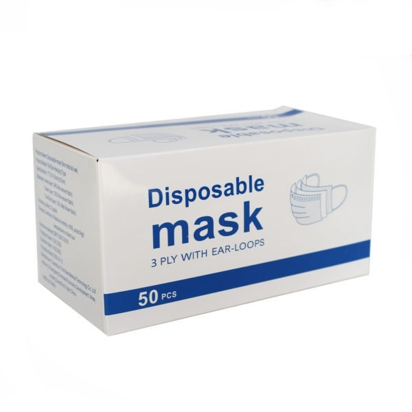 Disposable Masks - Pack of 50 1