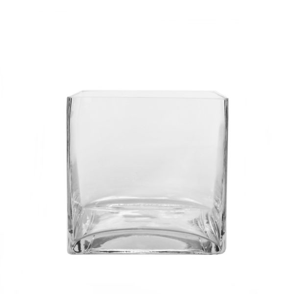 Clear Glass Cube 1