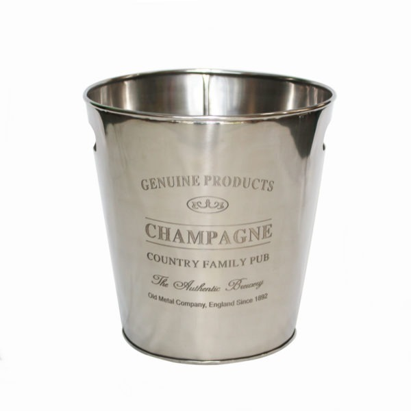 Metal Champagne Bucket 1