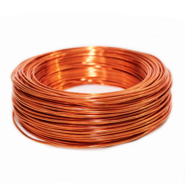 Aluminium Wire - Orange 1