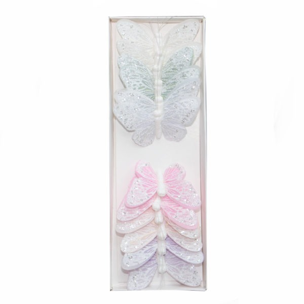 Butterflies on a Wire - Assorted Pastels 1