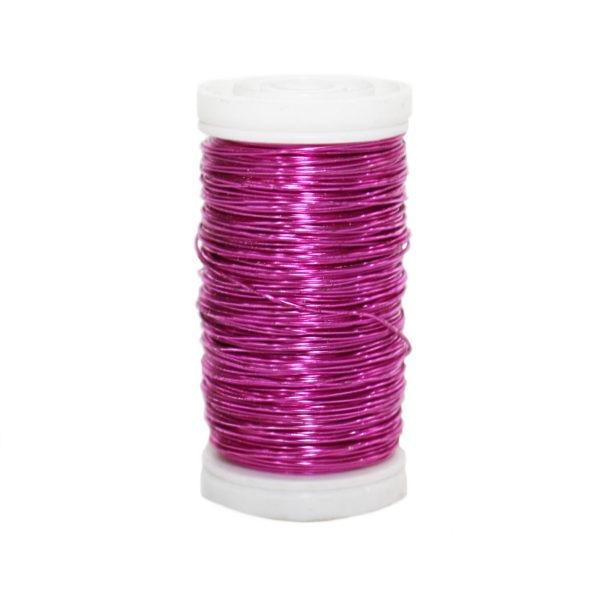 Metallic Wire - Bright Pink 1