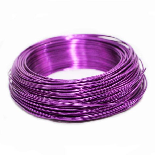 Aluminium Wire - Violet 1