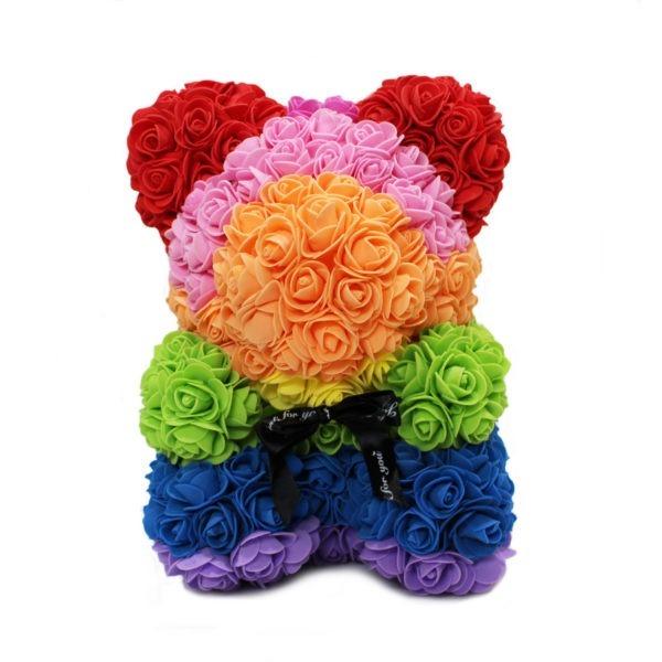 Foam Rose Teddy Bear 1