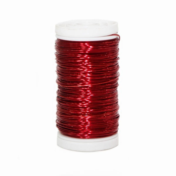 Metallic Wire - Red 1
