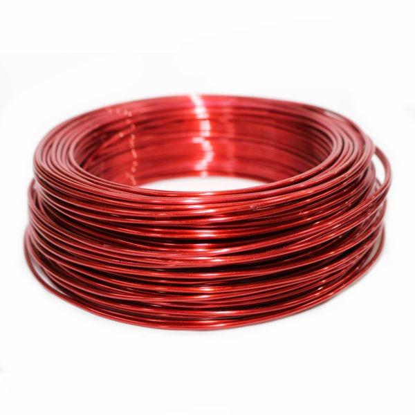 Aluminium Wire - Red 1