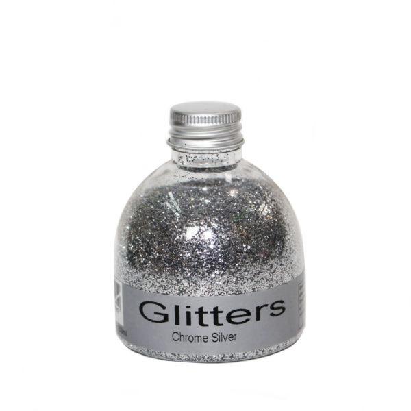 Glitter - Chrome Silver - 150ml 1