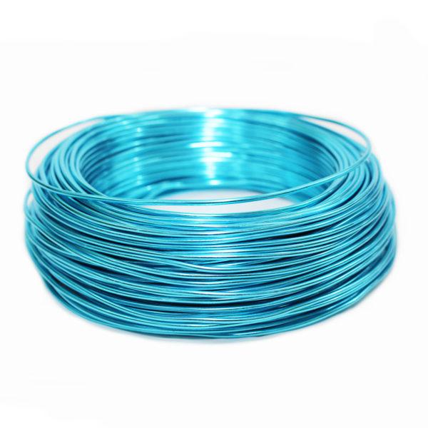 Aluminium Wire - Turquoise 1