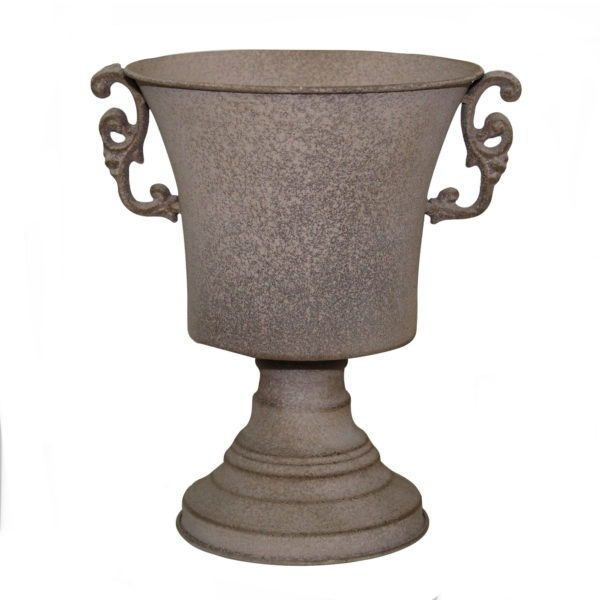 LEON Metal Urn With Handles 1