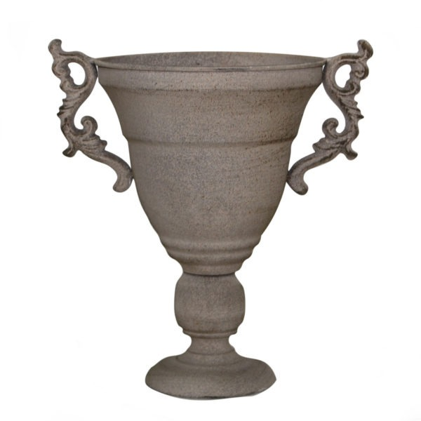SELENY Metal Urn With Handles 1