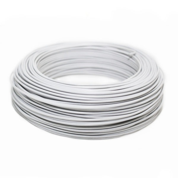 Aluminium Wire - White 1