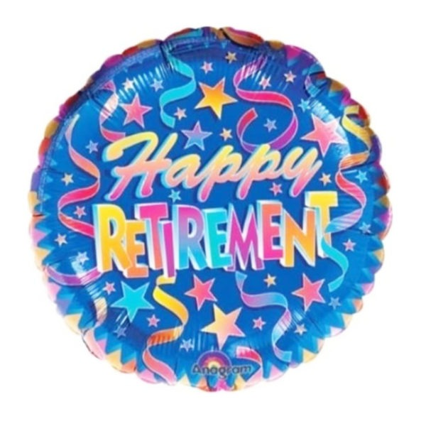 Happy Retirement Foil Balloon 1