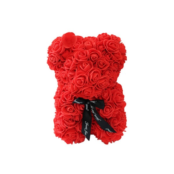 Small Foam Rose Teddy Bear - Multiple Colours 1