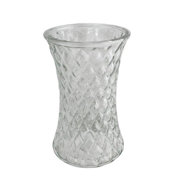 Diamond Effect Vase 1