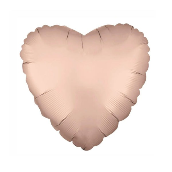 Pink Heart Foil Balloon 1