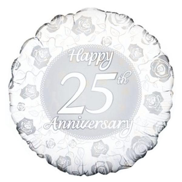 Happy 25th Anniversary Balloon 1