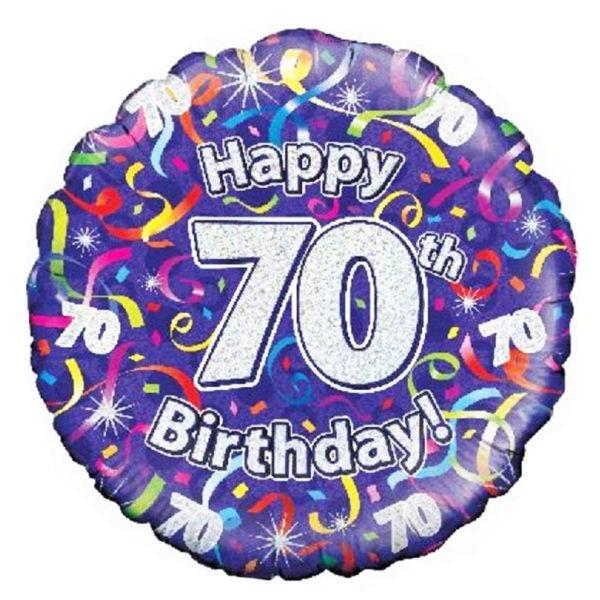 Birthday Streamer Balloons 1