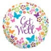 Get Well Soon Butterfly Balloon 2