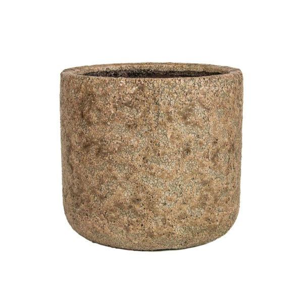 THIRZA plant pot - Cognac 1
