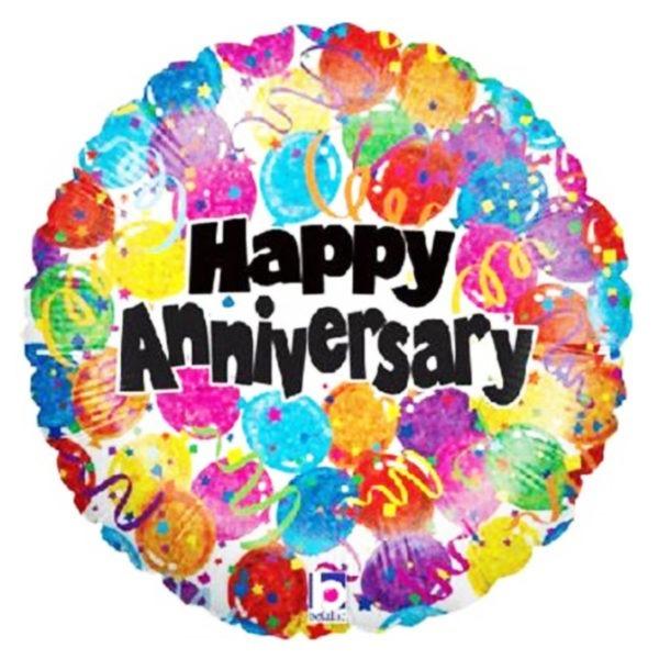 Happy Anniversary Foil Balloon 1
