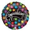 Congratulations Foil Star Balloon 2