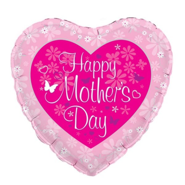Happy Mother's Day Heart Balloon 1