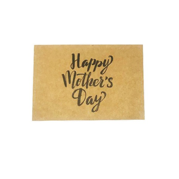 Large Happy Mother's Day Cards - Natural 1