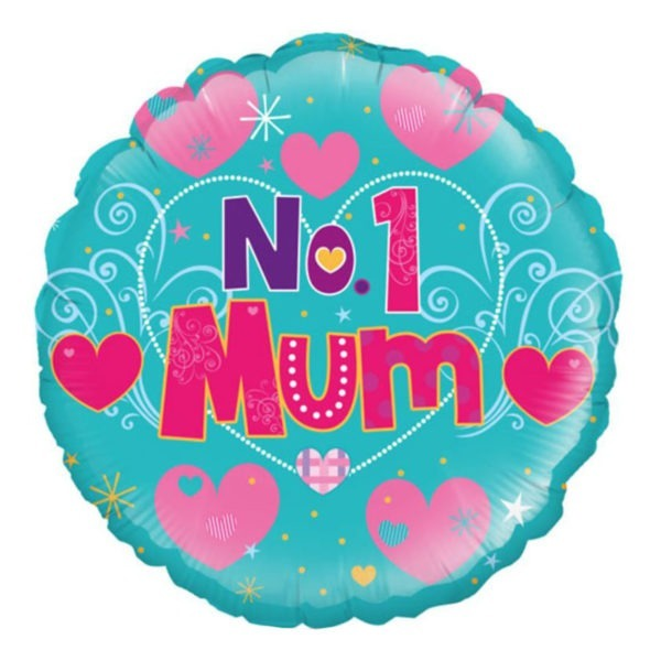 No. 1 Mum Balloon 1