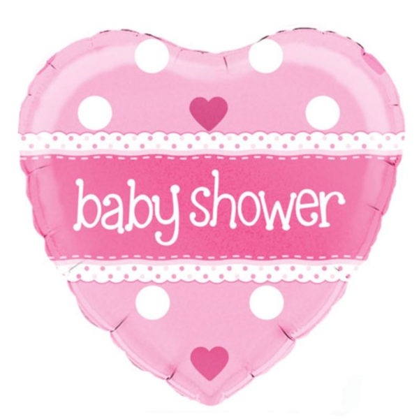 Pink Baby Shower Balloon 1