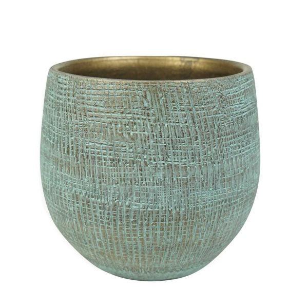 RYAN pot - Shiny Blue 1